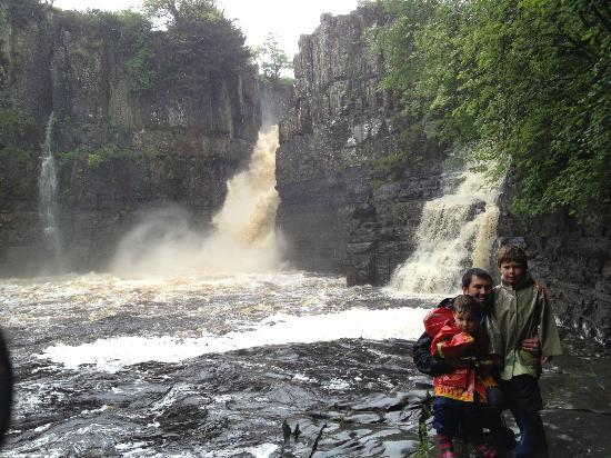 High Force Waterfall: visiting the falls