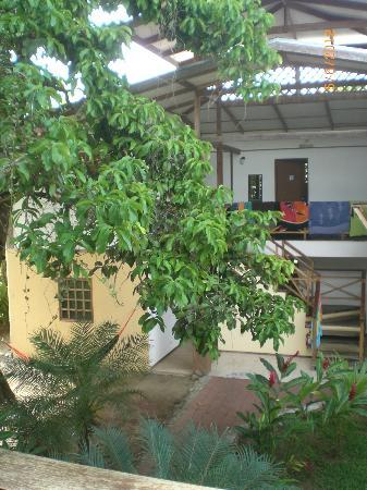 Pagalu Hostel: view to the 2nd house