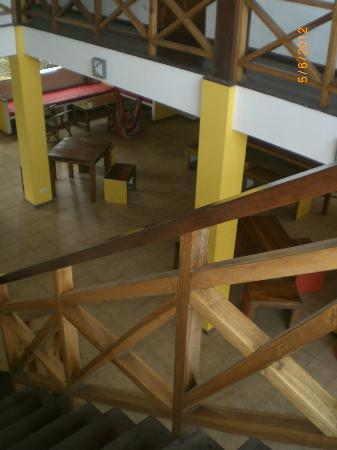 Pagalu Hostel: view to the lobby