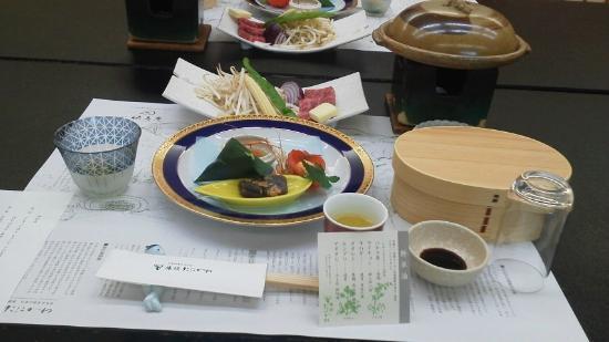 Ryokan Tanigawa: 夕食