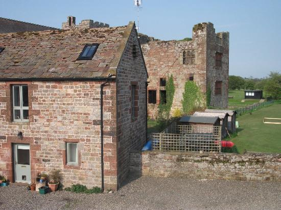 Lanercost Bed and Breakfast: Our view