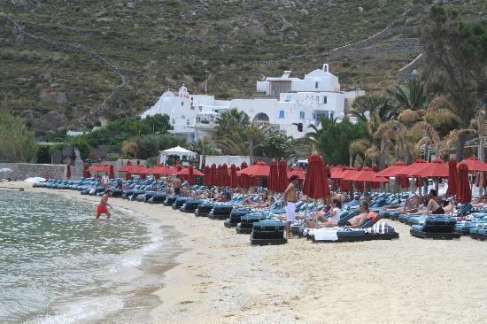 Hotel Jason: Psarou beach