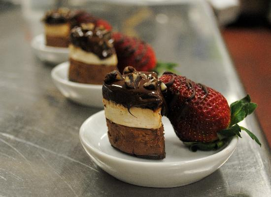 Village Inn Event Center: A dessert created by one of our talented chefs!
