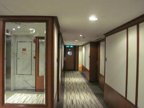 Stanford Hillview Hotel: Auf der Etage