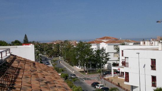 Hotel Avenida Tropical: Uitzicht richting Zee