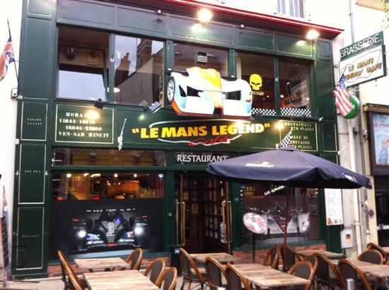Le Mans legend Cafe. Great place to visite when you're here