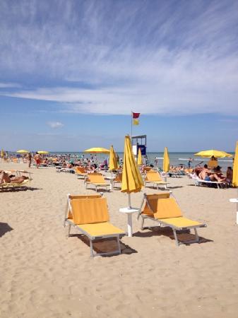 Hotel La Playa : der Strand Pineta