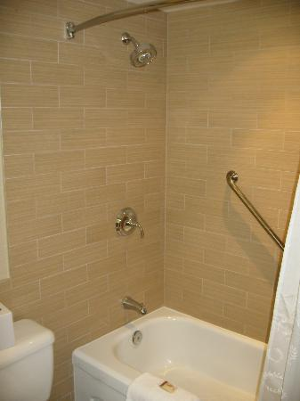 Sheraton Vancouver Airport Hotel: shower