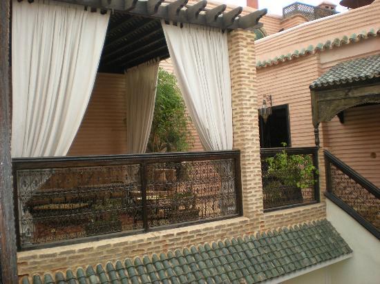 Riad Ilayka: Una de las terrazas