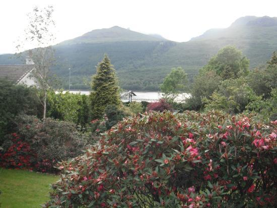 Fascadail Country Guest House: View of Loch Long from front door