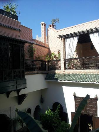 Riad Ilayka: Terraza
