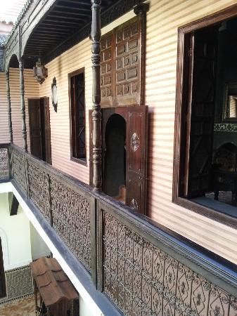 Riad Ilayka: Una de las habitaciones vista dede fuera