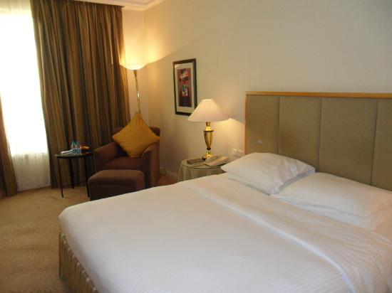 Grand Hyatt Amman: cama muy cómoda