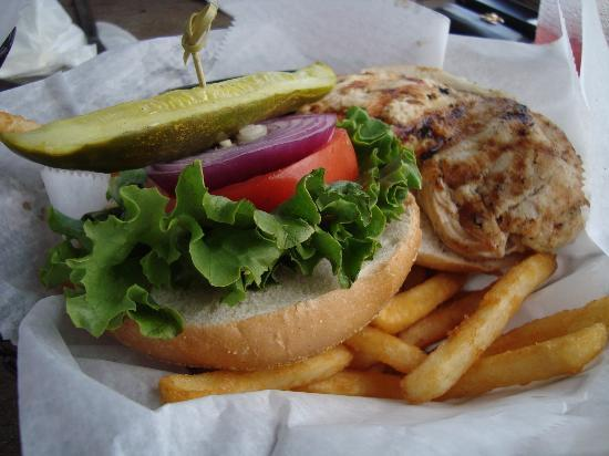 Trianon Bonita Bay: Grilled Chicken Sandwich from lakehouse