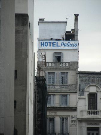 Hotel Palacio: Back fassade of the hotel