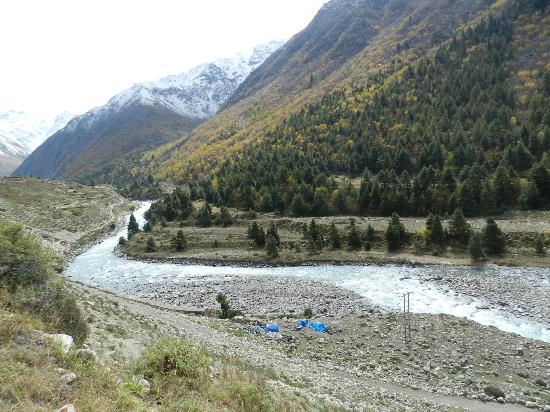 Kinnaur District, Indien: baspa river