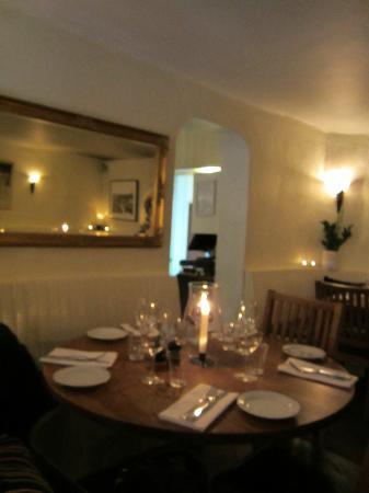Restaurang Kryp In: table