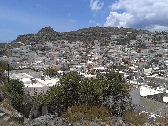 Lindos Village - Picture of Village of Lindos, Lindos ...