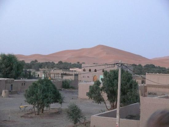 Guest House Merzouga : view from terrace