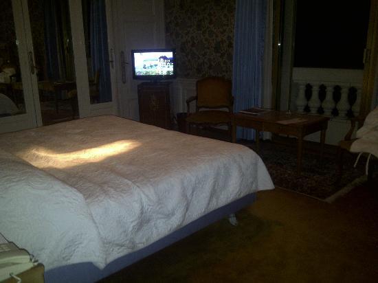 Hotel Negresco : Chambre