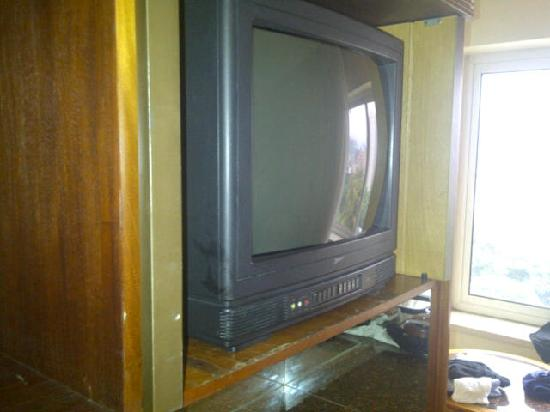 InterContinental Tamanaco Caracas: The TV of my room...