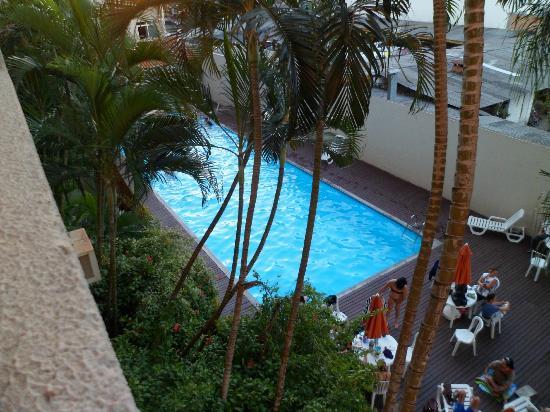 Lider Palace Hotel: la piscina desde la habitación