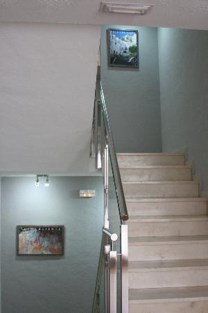 Hotel Balneario de Fuencaliente: Subida a plantas