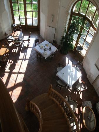 Penzion v Kapli : Frühstücksraum