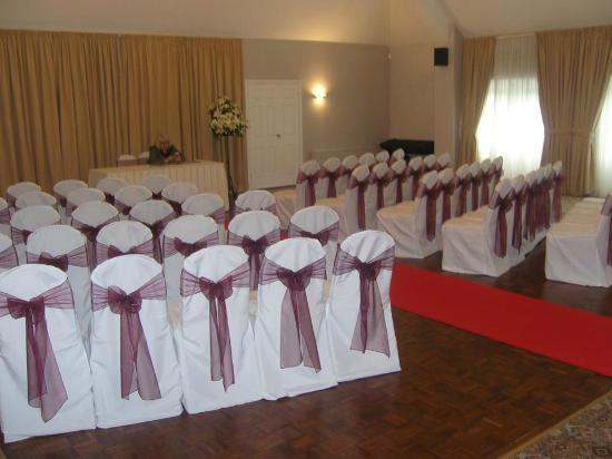 The Manor Cheadle: Room set up for ceromany