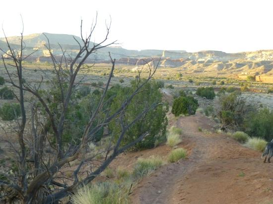 Paria Canyon Guest Ranch : Sunset overlooking the Paria River Gorge