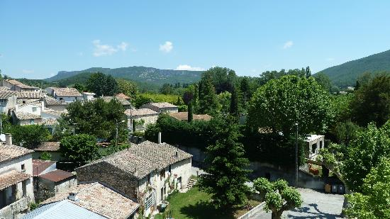 Le Jabron : The view from our bedroom