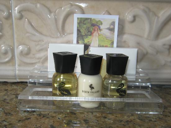 Ballygarry House Hotel & Spa: produtos de higiene com um cheirinho ótimo