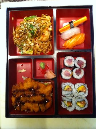 Sushi Kimura: menu de mediodia