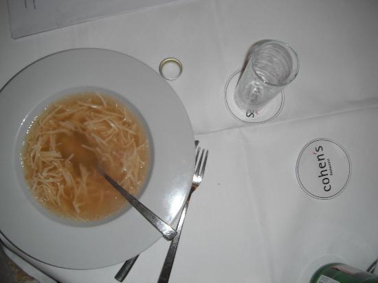 Cohen's: Deliscious Soup!!