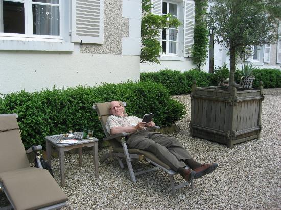 Chateau de la Resle: Easy to relax