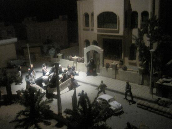 Kuwait House for National Works Museum: Displays of Iraqi invasion