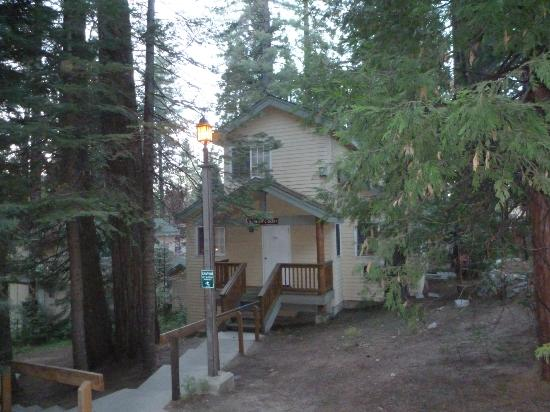 Our cabin picture of tenaya lodge at yosemite fish camp for Fish camp ca lodging
