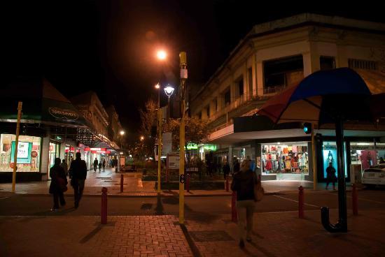 Distrito de la calle Cuba: A Wellington evening