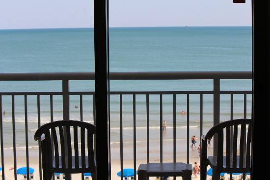 Paradise Resort: From the Balcony