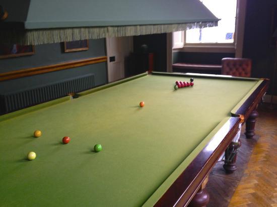 Bantry House B&B: Billiard room