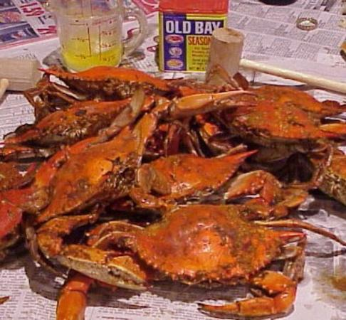 Seaside Restaurant & Crab HSE: Amazing steamed crabs!
