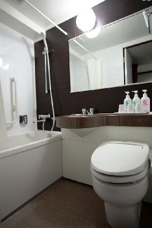 Ueno Touganeya Hotel: bath rooms