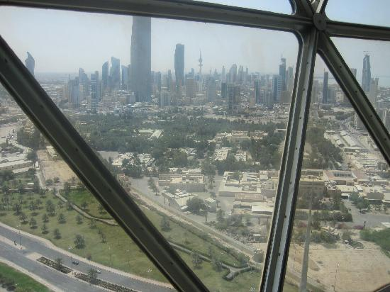 Kuwait Towers: Surprisingly green