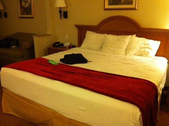 Best Western Longview: huge comfortable bed