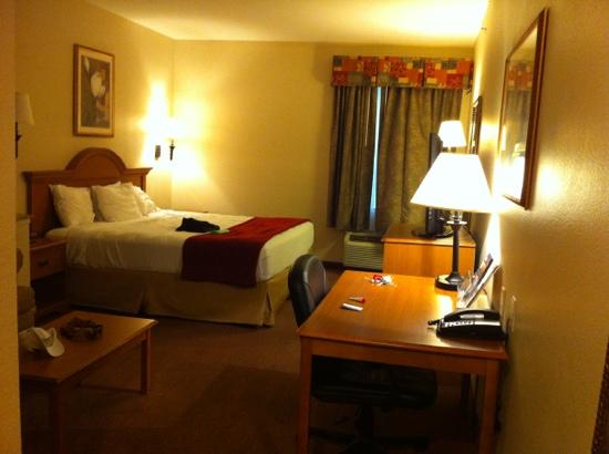Best Western Longview: spacious room