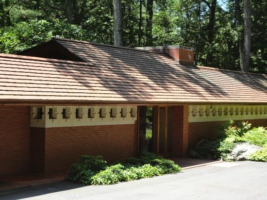 Even the mailbox was designed by flw picture of for Zimmerman house