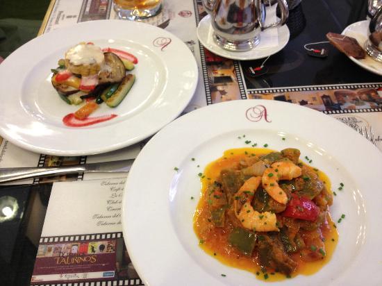 Taberna Del Alabardero : Delicious First Course