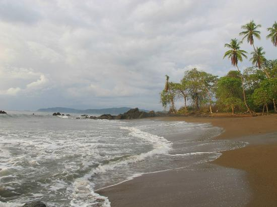 Casita Corcovado: We found a beautiful secluded Beach just a little walk away from the village