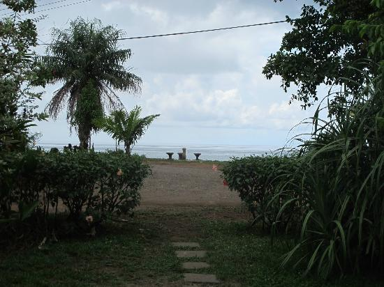 Casita Corcovado: View from the house towards the Ocean