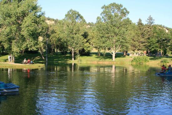 Chadron State Park : Park Lake
